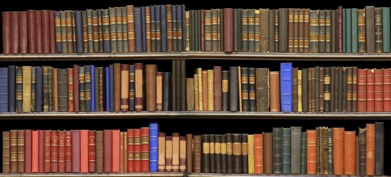 library-shelves