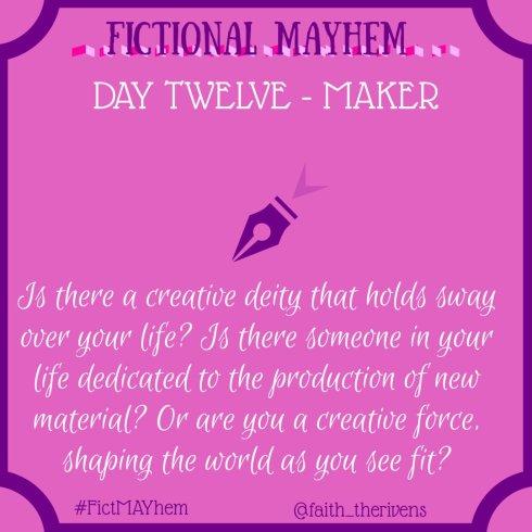 FictMAYhem Day 12