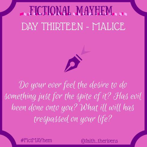 FictMAYhem Day 13
