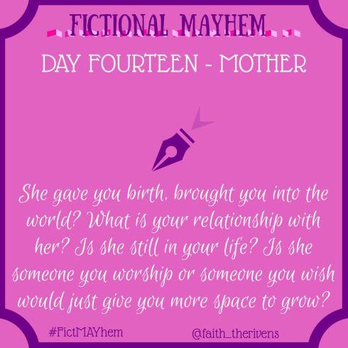 FictMAYhem Day 14