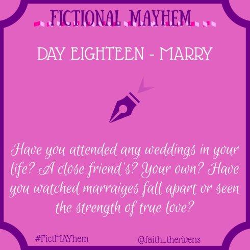 FictMAYhem Day 18