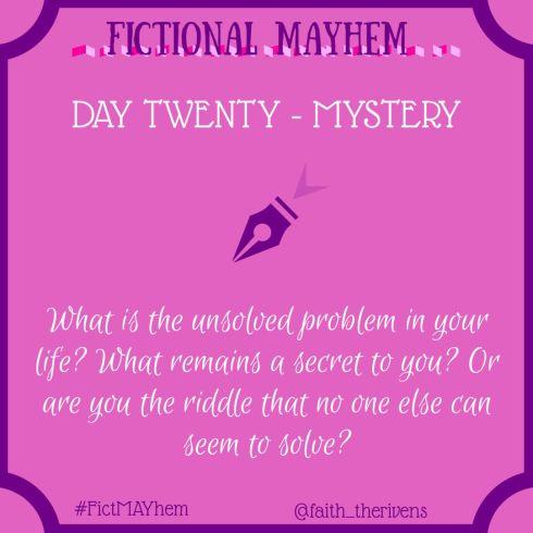 FictMAYhem Day 20