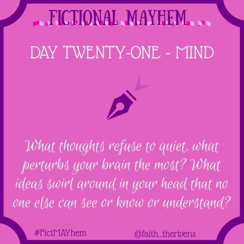 FictMAYhem Day 21