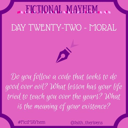 FictMAYhem Day 22