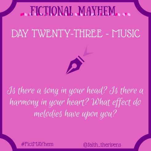 FictMAYhem Day 23