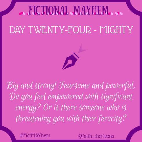 FictMAYhem Day 24