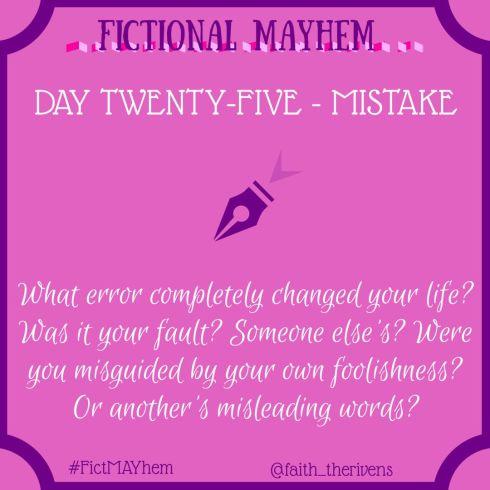 FictMAYhem Day 25