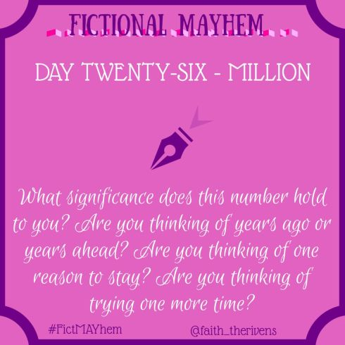 FictMAYhem Day 26