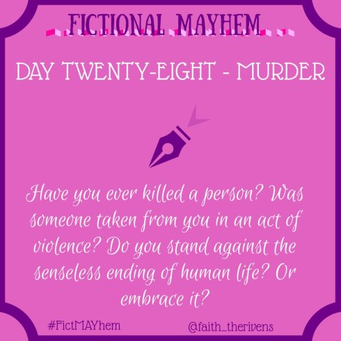 FictMAYhem Day 28