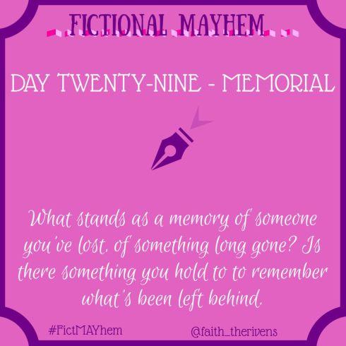 FictMAYhem Day 29