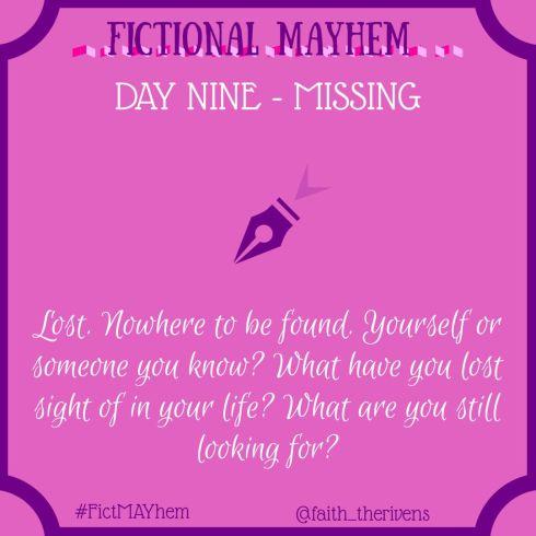 FictMAYhem Day 9