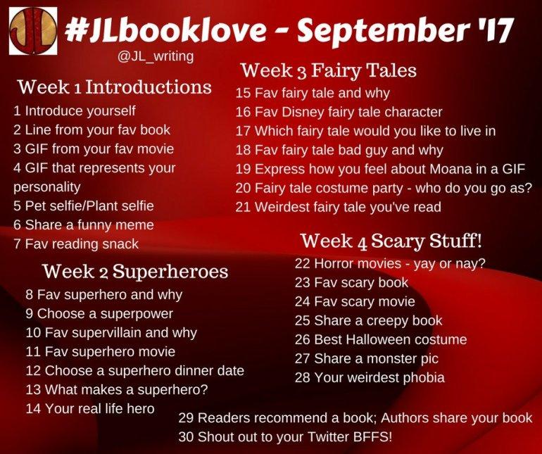#JLbooklove - September