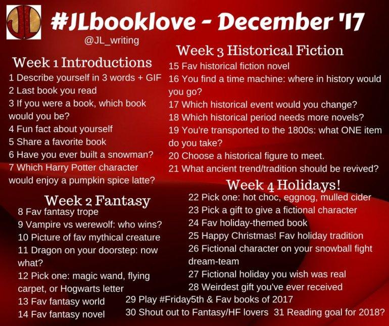 #JLBooklove - December